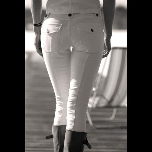 Agnes Jeans White