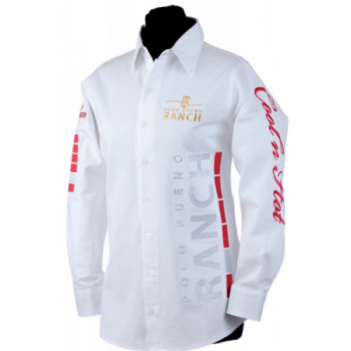 "Poco Bueno Dame skjorte ""Cool Horses Hot Riders"" 60%"