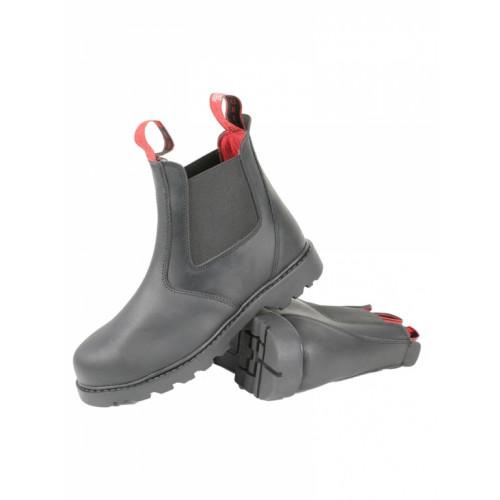 Mink Horse Stald/Arbejdsstøvle i kraftigt vandtæt læder