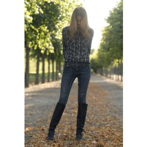 Agnes Jeans Blue Stone