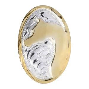 Araber Concho Heste Hoved, Guld/Sølv