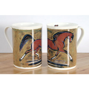 Kopper med heste