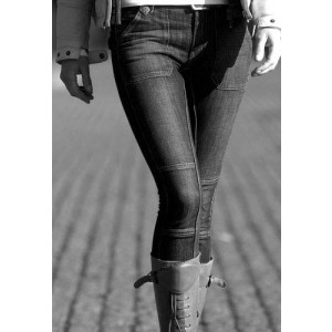Agnes Jeans Black Denim