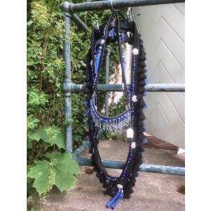 Royal Blue Bead Bringestykke