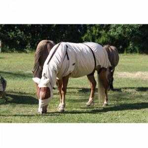 HorseGuard eksemdækken med fluemaske