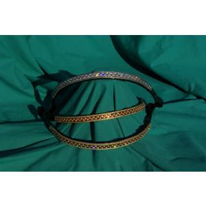 Tiffany, Pandebånd med Swarowski sten Spar 60%