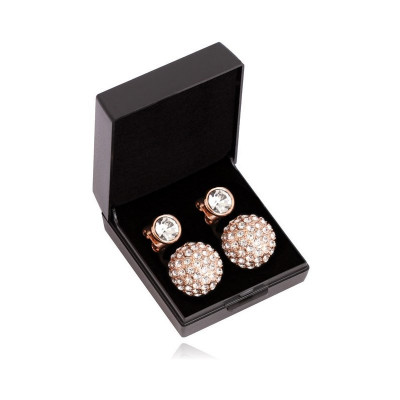 SD® Diamond ørestikkers. Rose Gold