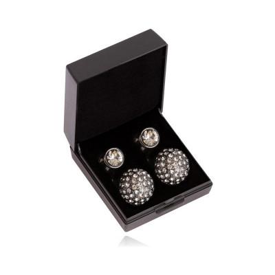 SD® Diamond ørestikkers. Black