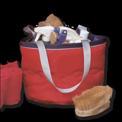 Big D Round Tote Bag