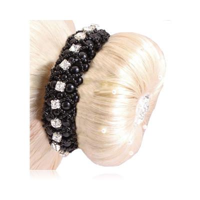 SD® Pearl & Crystal hårelastik.