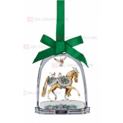 "Breyer ""Winter Wonderland 2017 Ornament, julepynt. Håndmalet juletræspynt fra Breyer"