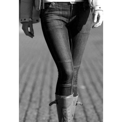 Agnes Jeans Black Denim